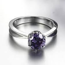 Stainless Steel Wedding Rings by Good Metal Wedding Rings With Crystal Titanium Stainless Steel