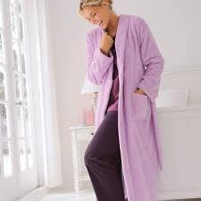 robe chambre polaire femme enchanteur robe de chambre peluche femme avec peignoir polaire