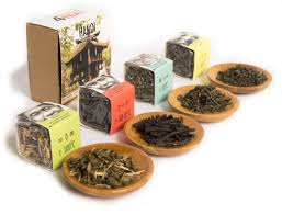 gourmet gift set of 4 leaf flavors tea gift set hanoi sense asia tea