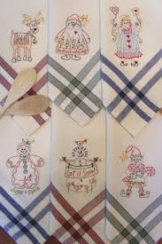 Machine Embroidery Designs For Kitchen Towels by 238 Best Embroidery For The Kitchen Images On Pinterest