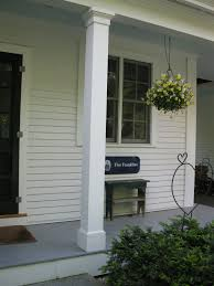 square porch columns wood