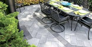 Patio Furniture Milwaukee Wi by Banding Borders And Inlays Patio Stone Designs For Burlington
