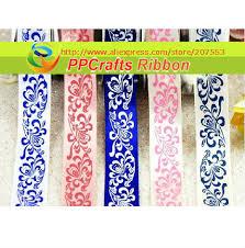 ribbon in bulk ppcrafts ribbon bulk oem 1 inch 25mm single satin blue and