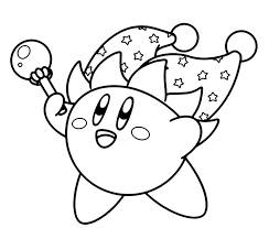 kirby coloring pages coloringpagesabc for kirby coloring pages