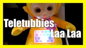teletubbies laa laa lullaby musical night light plush teletubby