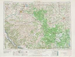 Topographic Map United States by Eau Claire Topographic Map Sheet United States 1953 Full Size