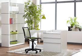 Convertible Desk Modern White 28
