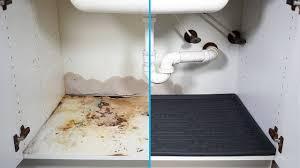 sink kitchen cabinet base repair water damaged cabinet repair prevent