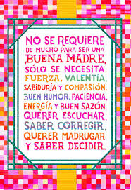 happy thanksgiving in espanol colorful squares spanish language mother u0027s day card for sister