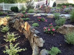 best moss rock landscaping ideas front yard inspirations