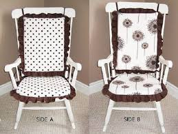 Dining Room Chair Cushions With Ties Marvelous Rocking Chair Cushions Indoor And Chair Woodlands Peters