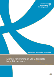 manual for drafting of gri g4 reports