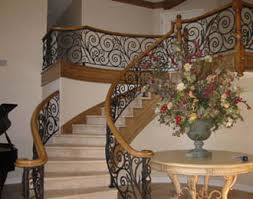 iron staircase railing orange county ca ornamental iron