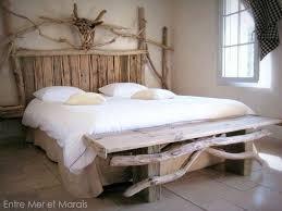 chambre bois flotté best chambre en bois flotte photos design trends 2017 lit bois