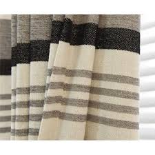 striped thermal energy saving soundproof curtains
