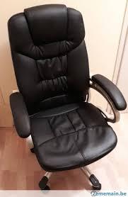 Chaise De Bureau Confortable Imitation Cuir A Vendre 2ememain Be Chaise De Bureau Confortable