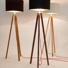 Wohnzimmerlampe Design Holz Wdm Design Stehlampe Tripod Wohnzimmer Lampe Stehleuchte Leuchte