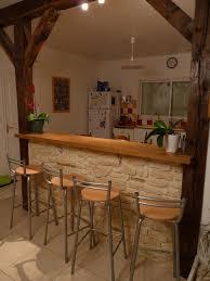 cuisine en brique bonne mine cuisine bar brique d coration jardin at p1040392