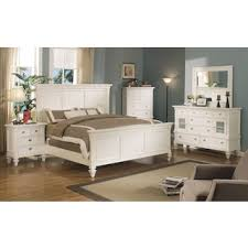 King White Bedroom Sets Shannon 4 Piece King Bedroom Set White Levin Furniture