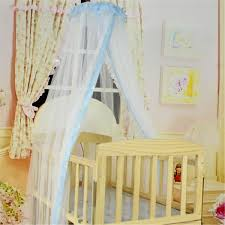 Cot Bed Canopy Summer Mosquito Net For Toddler Crib Infant Baby Cot Bed