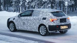 opel astra 2015 2016 opel astra spied wearing production head and taillights