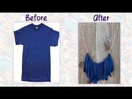 shirt necklace tutorial images Diy how to make a cute fringe necklace from an old t shirts jpg