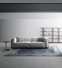 Fabric Or Leather Sofa Verdesign Dolcevita Sofa Collection Walnut Fabric Or Leather