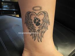 216 best tattoos images on pinterest paw print tattoos dog paws