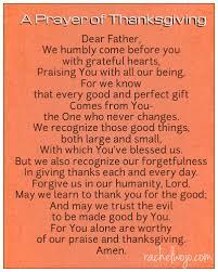 a prayer of thanksgiving rachelwojo