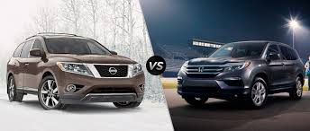 nissan pathfinder towing capacity 2016 2016 nissan pathfinder vs 2016 honda pilot