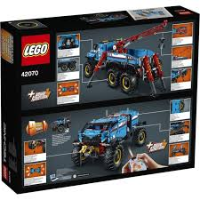 lego technic 6x6 terrain tow truck 42070 toys toyworld