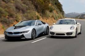 Bmw I8 Acceleration - bmw i8 vs porsche 911 comparison