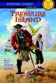 treasure island book report amazon com treasure island a stepping stone book tm