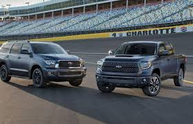 large toyota suv toyota unveils trd sport grade for 2018 tundra and sequoia suv