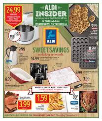 aldi weekly ad nov 16 2016 thanksgiving