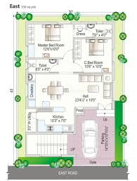 2bhk House Plans 100 2bhk House Plans Square Feet Floor Foot House Plans