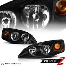 2005 2010 pontiac g6 gt gtp gxp crystal black new headlights