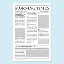 journal paper template graphical design newspaper journal template paper tabloid on