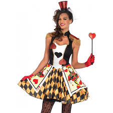queens card guard womens halloween costume