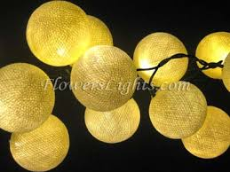 how to make fairy lights cotton ball string lights led cotton ball party fairy lights