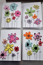 How To Make Easy Paper Flowers For Cards - best 25 making greeting cards ideas on pinterest greeting cards