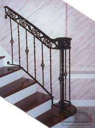 porch and step railing southeastern ornamental iron works