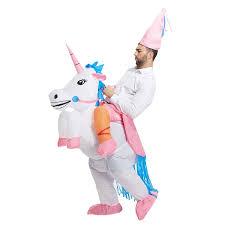amazon com toloco inflatable unicorn rider halloween costume