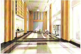 main entrance hall design the beacon jersey city nj buildings a b and c created main