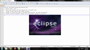 android sdk eclipse tutorial install eclipse android sdk bncc