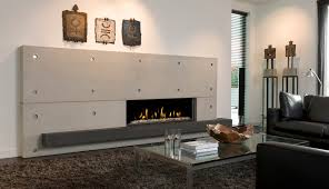 horizontal gas fires
