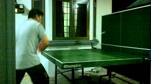 how to play ping pong alone