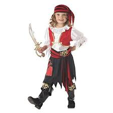Pirate Halloween Costumes Kids Amazon Penny Pirate Cute Kids Costume Black White Red
