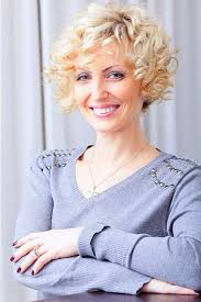 short curly haircuts for older women short haircuts for curly hair