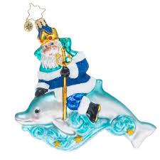 christopher radko ornaments radko king of the sea santa